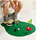 COOL-Toilet-Bathroom-Mini-Golf-Mat-Set-Game-Potty-Putter-HOT-SALE-22060